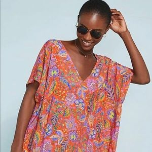 Floral Caftan Cover Up